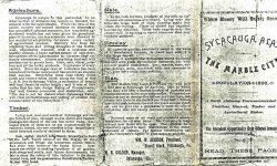 Sylacauga brochure 1891-a