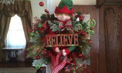 Elf Wreath for raffle