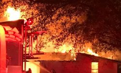 Welcome Springs Baptist Church fire