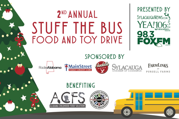 Second Annual Stuff the Bus Food & Toy Drive kicks of ...