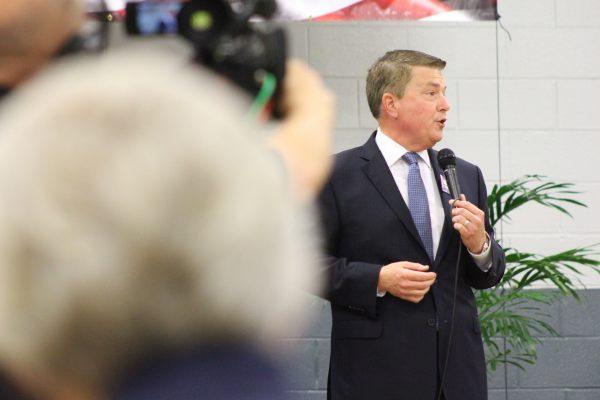 Gubernatorial candidate Scott Dawson