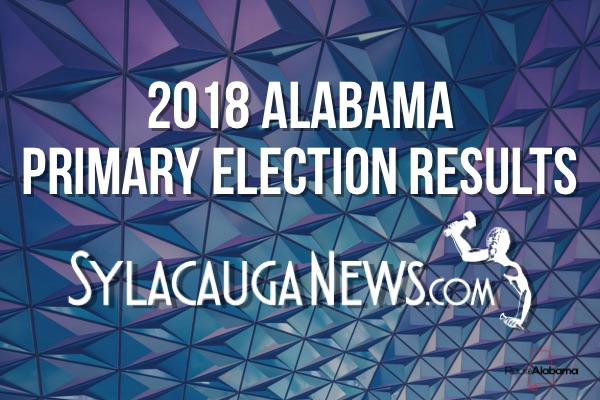 2018 Alabama Primary Election Results