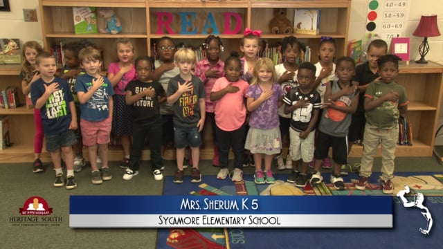 2018-2019 Pledge of Allegiance - Mrs. Sherum's K5 Class at ...